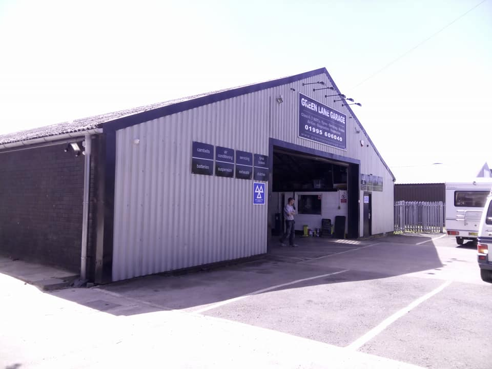 Green Lane Garage, Garstang